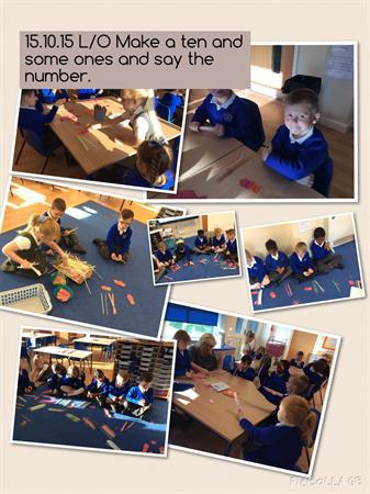Place value play.