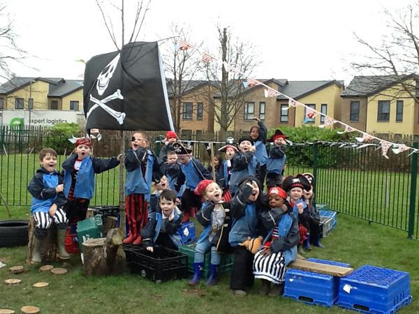 All aboard our Pirate ship!