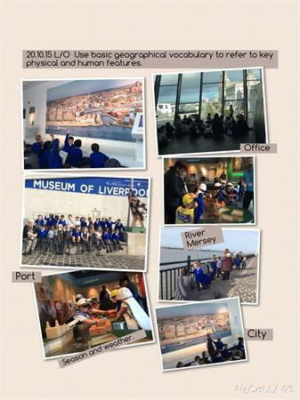 Geography Learning at the Museum of Liverpool.