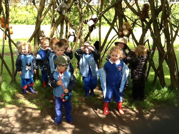 We found lots of animals on our jungle safari!