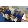 Year 3 enjoying our new comics