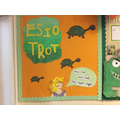 Reception's Esio Trot