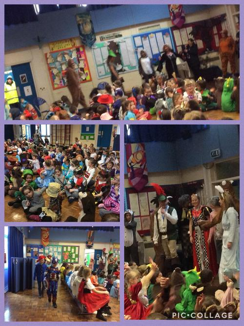 A fantastic time celebrating World Book Day!