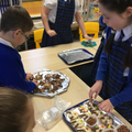 Year 4's reindeer biscuits
