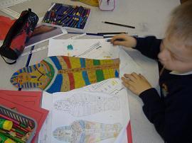 ...coloured pencils...