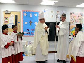 Blessing of the Reception Classroom.