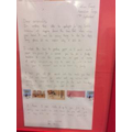 Year 4 wrote a letter to the other animals