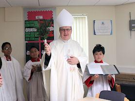 Blessing of the Nurture Room.