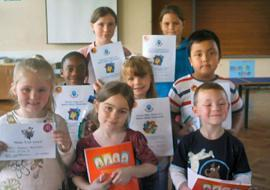 Here are some of the Maths Week Superstars!