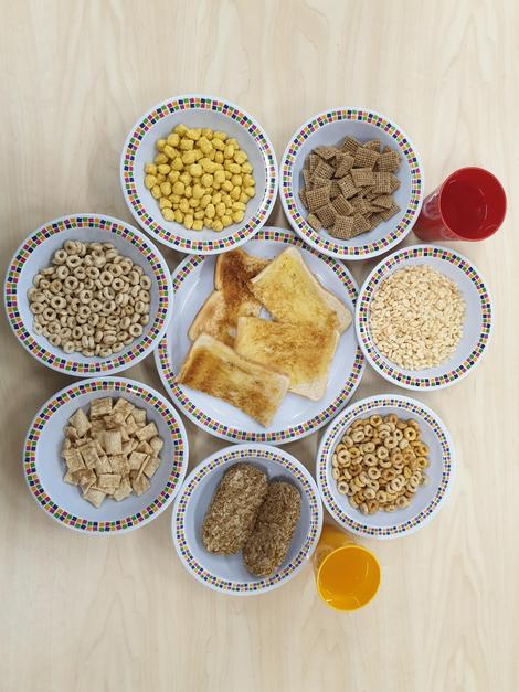 A healthy breakfast awaits mmm