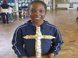 Here is the overall school winner of a gold totem