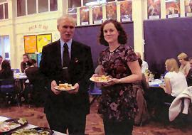 Mr Whitehouse and Miss Johnson