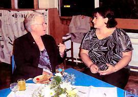 Mrs Johnson and Mrs Duffy