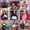 Happy recipients of the hearts!