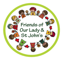 Friends of Our Lady and St. John's logo