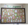We loved the story of 'The Jigaree'. We even made our own!