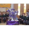 Our beautiful lenten promise tree