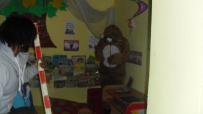 It's a bear.