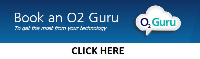 Book an O2 Guru