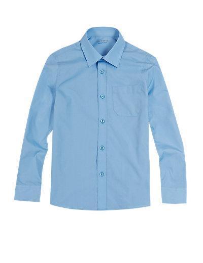 Boy's Blue Shirt