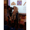 Year 1 looking at Jewish Clothing