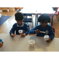 Nursery making a Chalice