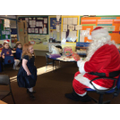 We had a special visitor at school on Wednesday
