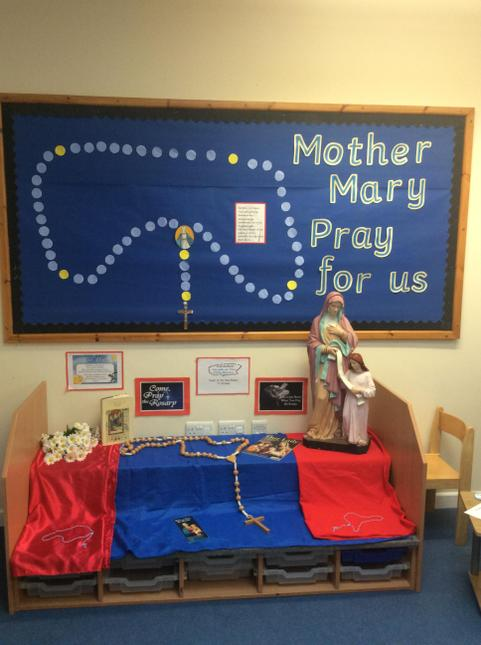 October Prayer Corner Display