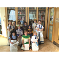 Year 4 went to the Egypt Centre in Swansea