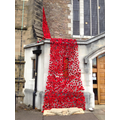 7000 poppies were knitted to decorate the church.