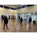 Dance session Year 6