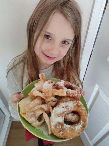 Wiktoria's Fat Thursday traditional sweets