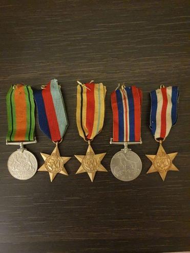Grandad Jim's medals