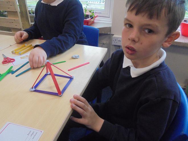 Making a pyramid