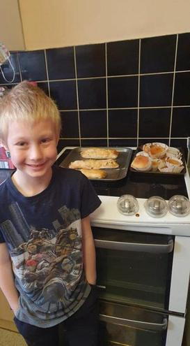 Jake's sausage rolls & Amelia's cakes