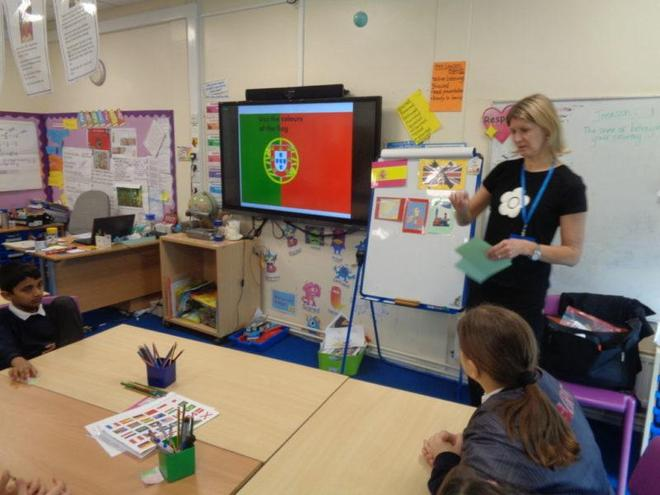Spanish lesson- Year 5