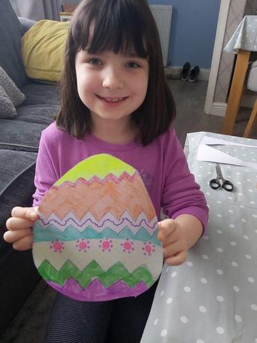 Isabelle's Easter egg