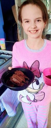Summer's brownies