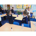 We used actions and expression when we pretended to be different characters.