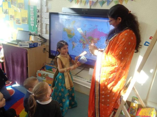 Parent/pupil presentation- India