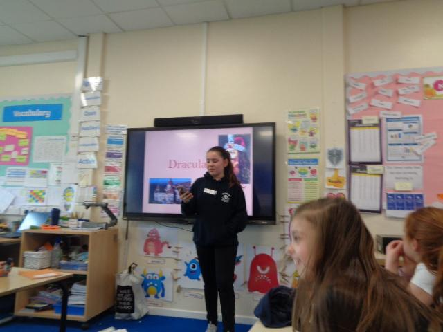 Year 3/4 Pupil/sibling presentation- Romania