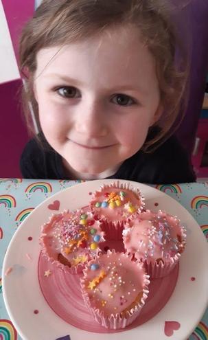 Annalise's fairy cakes