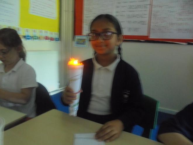 Making olympic torches