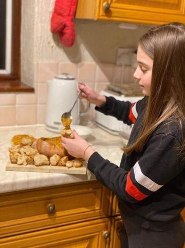 Mariana's traditional Portuguese bread