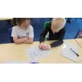 We used directional language.