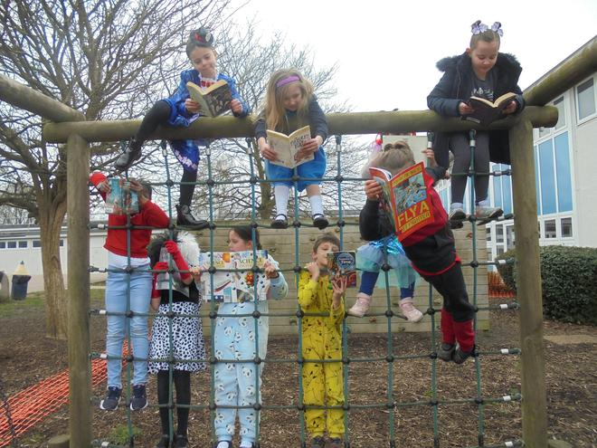 Extreme Reading for World Book Day