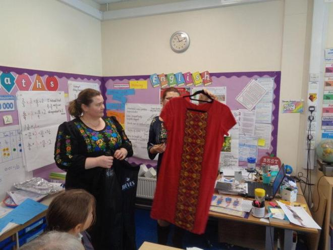Parent/pupil presentation- Ukraine