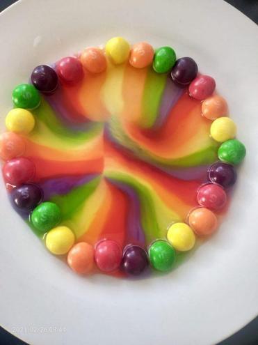 Bhavya's rainbow experiment