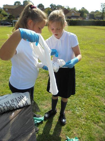 Mummifying a fish