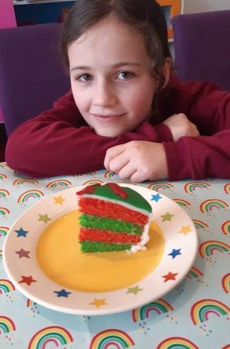 Melissa's Welsh cake